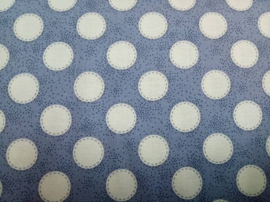 Sewn Spot Slate Blue - 481045