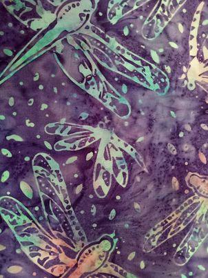 Dragonflies & Butterflies - Batik - 818