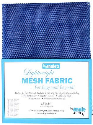 By Annie's Mesh Fabric - Blastoff Blue