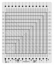 Creative Grids Stripology Squared Ruler