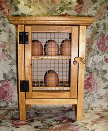Upright Egg Hutch