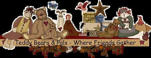 teddy bears and rag dolls