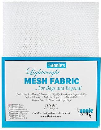 By Annie's Mesh Fabric -White