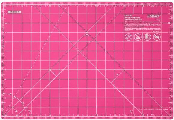 Olfa 18in x 12in Cutting Mat - Pink