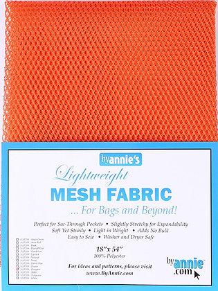 By Annie's Mesh Fabric -Pumpkin