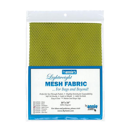 By Annie's Mesh Fabric - Apple Green