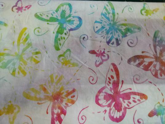 Dragonflies & Butterflies - Batik - 809