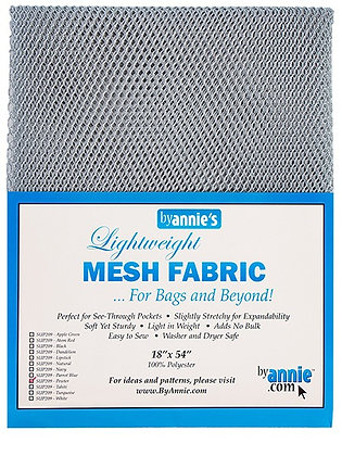 By Annie's Mesh Fabric -Pewter