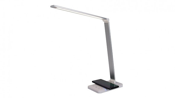 TRIUMPH  LED Table Lamp With Wireless and USB Charger