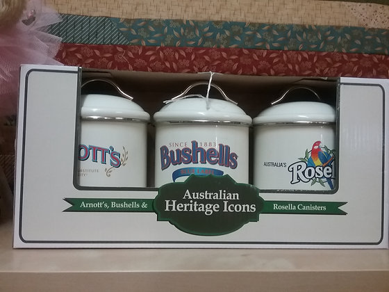 Heritage Canister Set of 3