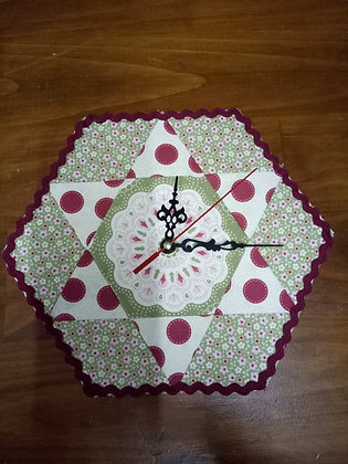 Paper Pieced Clock - 23rd March 2019