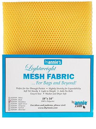 By Annie's Mesh Fabric - Dandelion