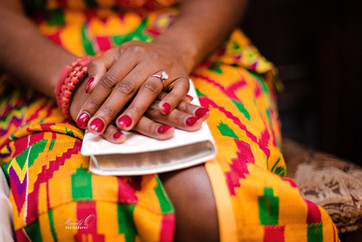 Ghanaian traditional marriage bride bibl