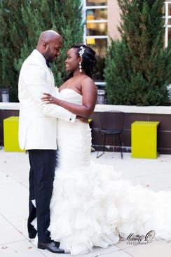 wedding-fern-background-bald-groom-Mandy
