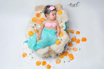Newborn-baby-girl-mermaid-Mandy-O-Photog