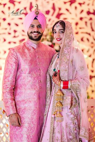 Indian wedding bride couple groom shaadi