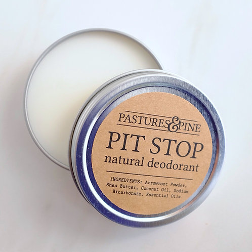 PIT STOP: Natural Deodorant Cream [that REALLY works!]