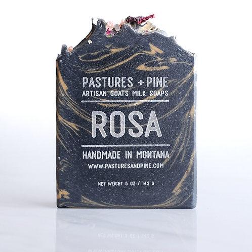 ROSA [honeysuckle + rose + jasmine] Goats Milk Soap