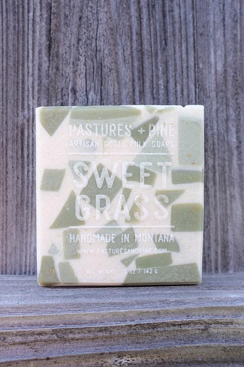 Montana Sweetgrass Goats Milk Soap