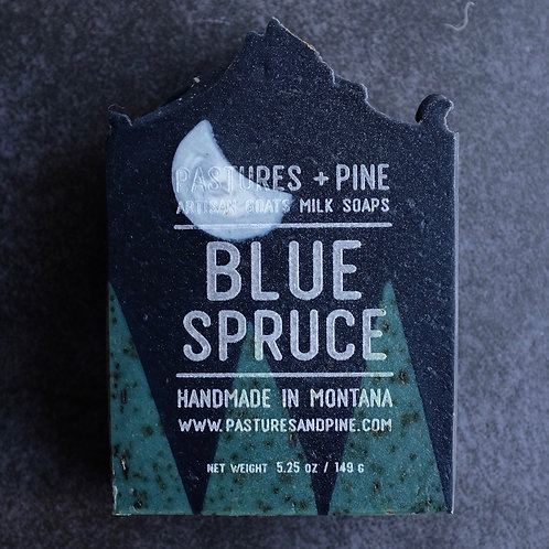 special pre-order BLUE SPRUCE Goat's Milk Soap (12/20 delivery)