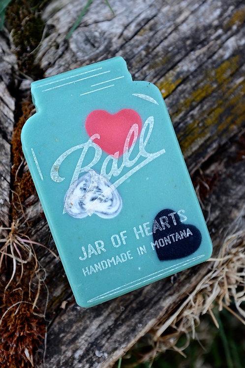Jar of Hearts Goats Milk Soap