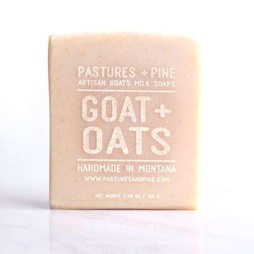 soothing GOAT + OATS soap