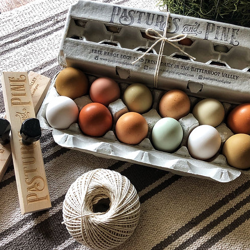 EGG CARTON STAMP SET
