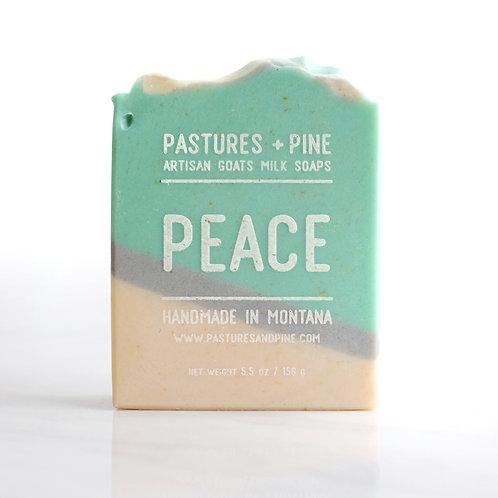 PEACE Goat's Milk Soap