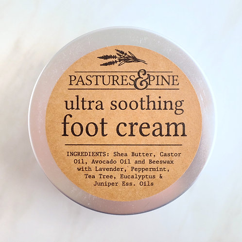 All Natural Soothing Foot Cream