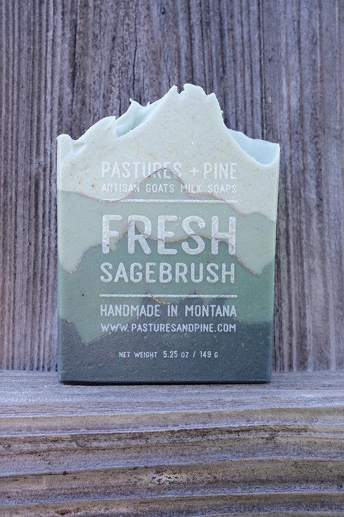 SAGEBRUSH goat milk soap