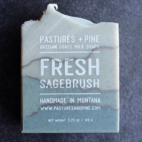 SAGEBRUSH goat milk soap