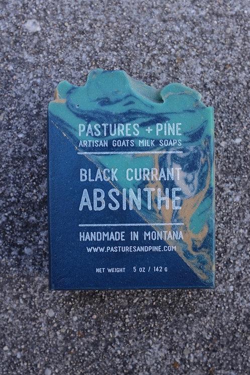 BLACK CURRANT ABSINTHE Goat Milk Soap