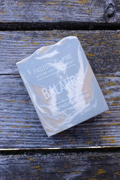 BALANCE [Lavender + Patchouli] Goats Milk Soap