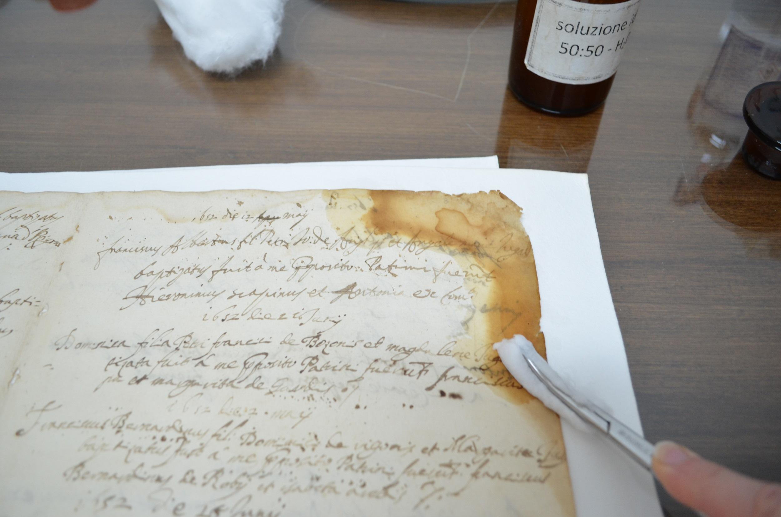Liber Baptizatorum 1648 - 1703 Intervent