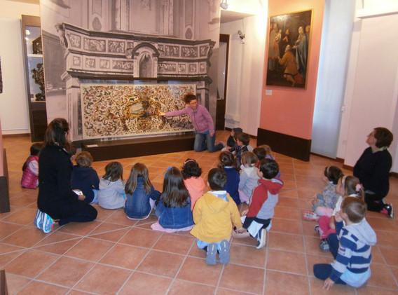 la visita del museo