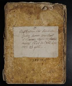 Liber Baptizatorum 1648-1703