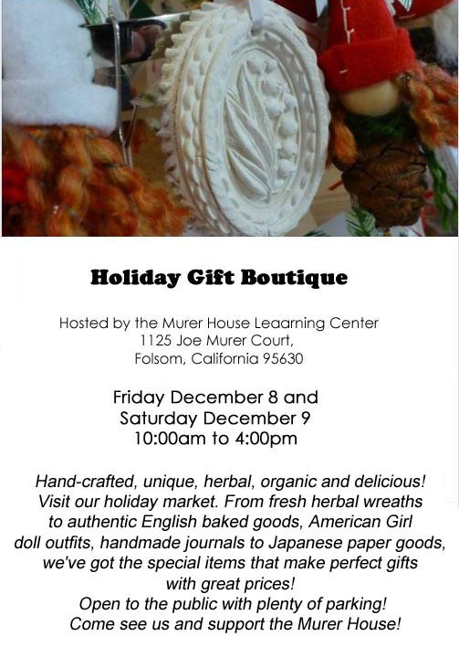 Murer House Holiday Gift Boutique