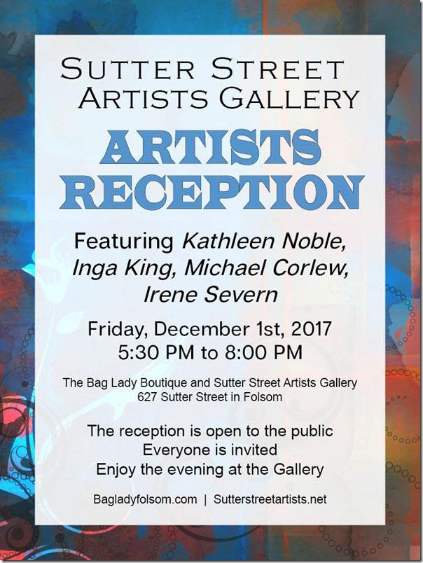 Sutter Street Artists Gallery Reception
