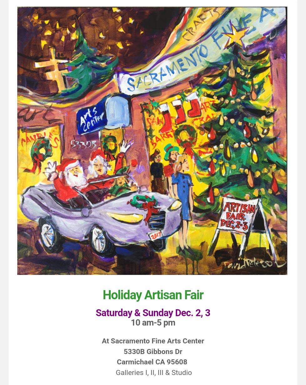 Sacramento Fine Arts Center Artisan Fair