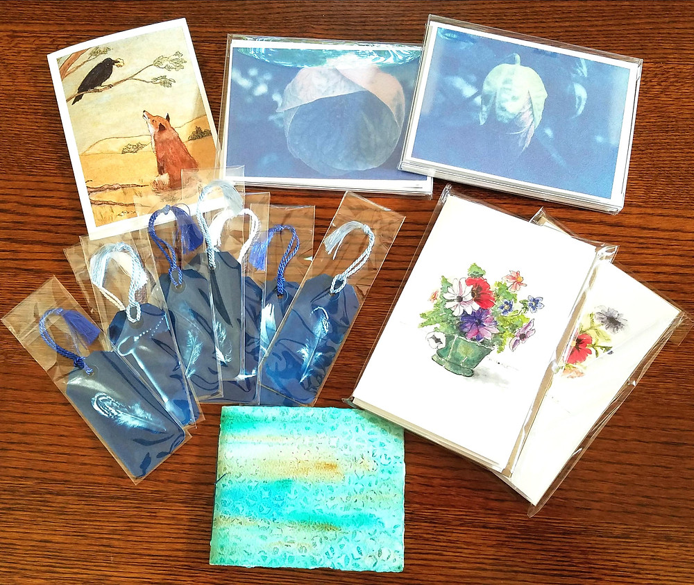 Bookmarks, cards, card sets