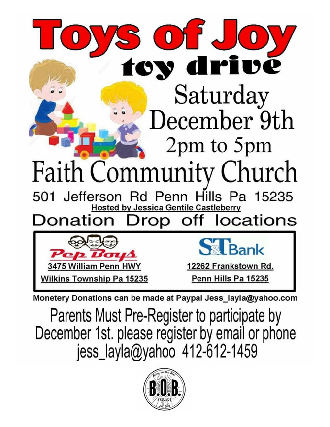 Holiday Toy Drive / Jessica Gentile