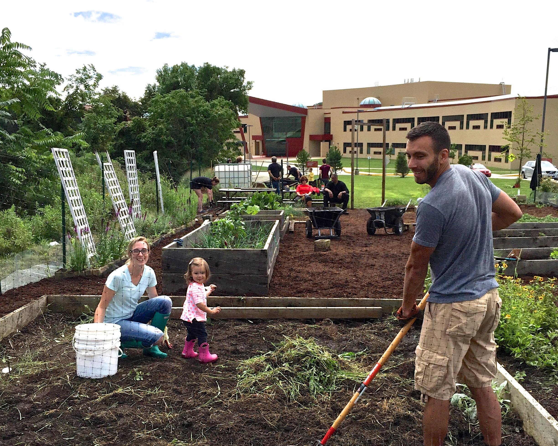 Penn Hills HS Garden Build