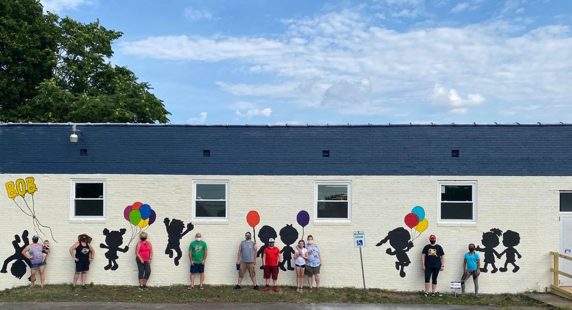 Learning 2 Learn Daycare Center Mural