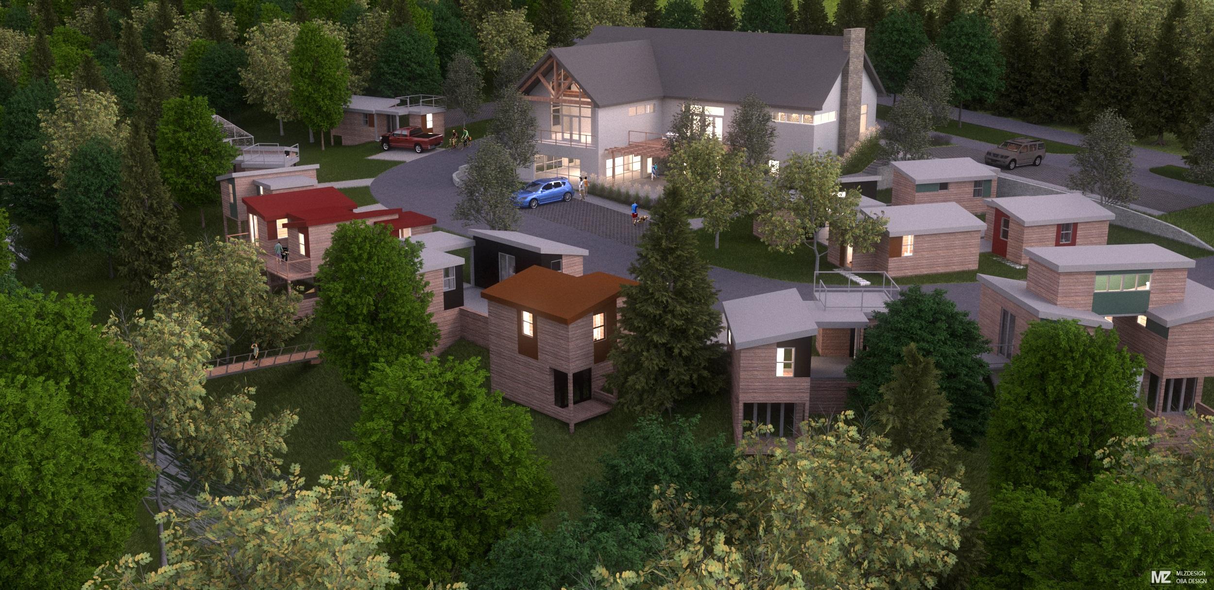Micro Homes for Veterans Community