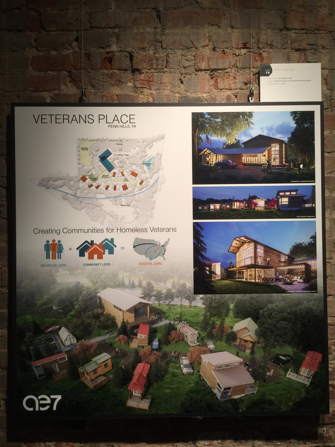 Gallery Crawl Tiny House Veterans Place
