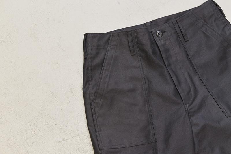 下氷鉋パンツ for AFTERSSTORES (BLACK)