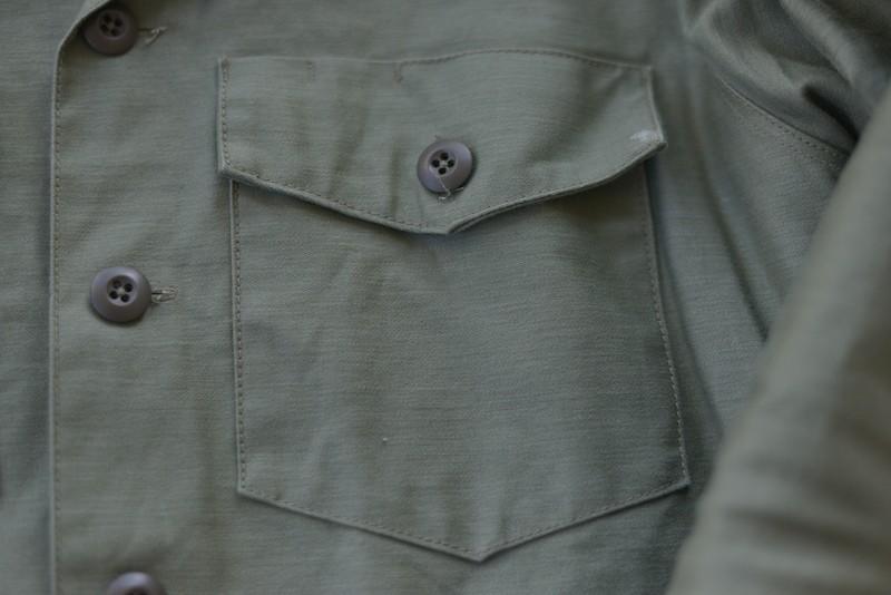 下氷鉋ミリタリーシャツ