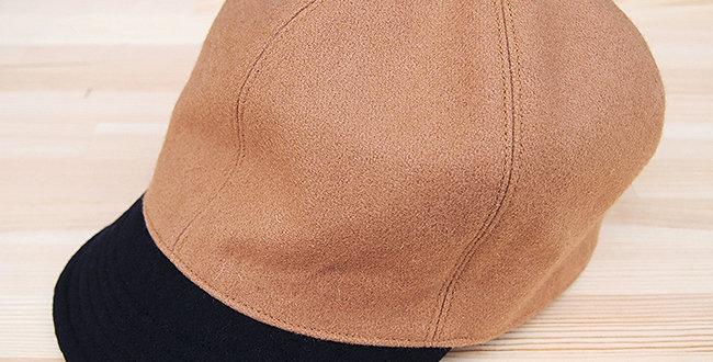 BASE BALL CAP BEIGE(LEATHER BELT TYPE)