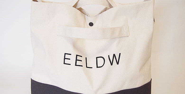2WAY SHOULDER BAG(OFF WHITE/BLACK・LOGO BLACK)