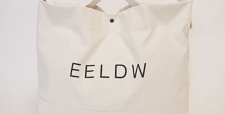 2WAY SHOULDER BAG(OFF WHITE / LOGO BLACK)
